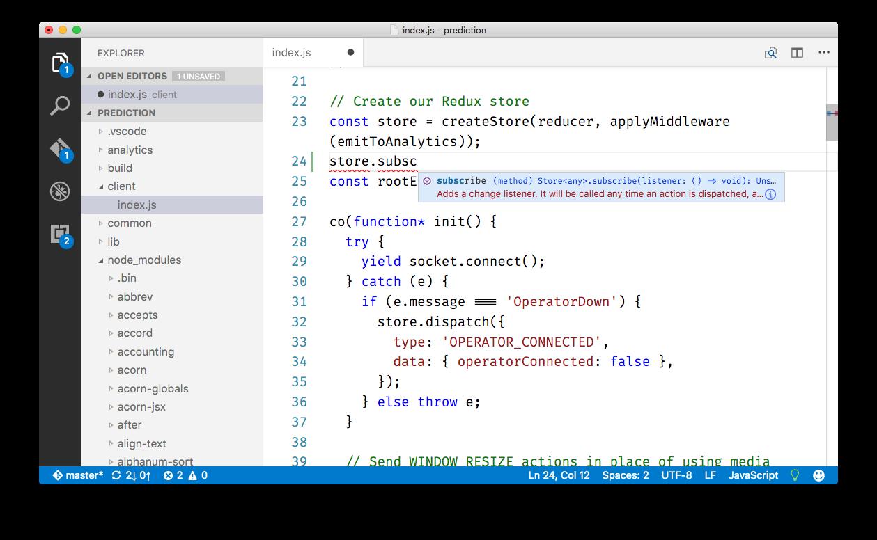 Using Vs Code For Javascript Artsy Engineering